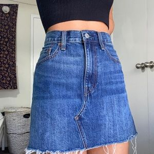 Levi's Authentic Mini Denim Skirt